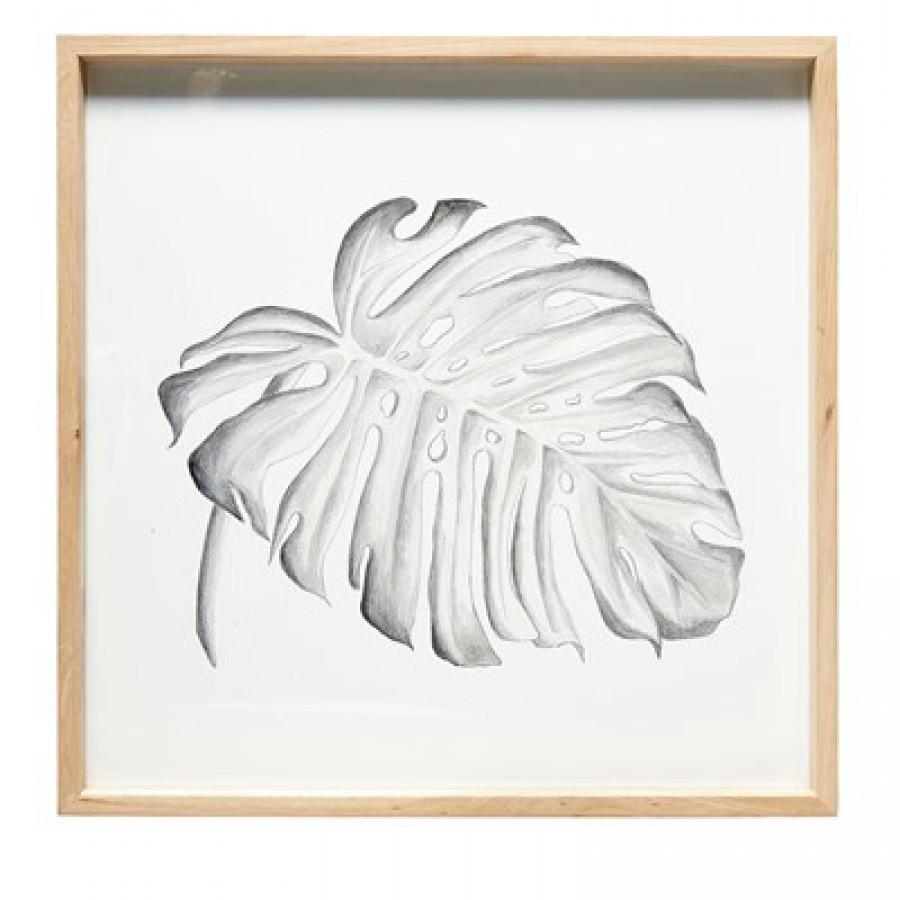 Obraz nadruk liść