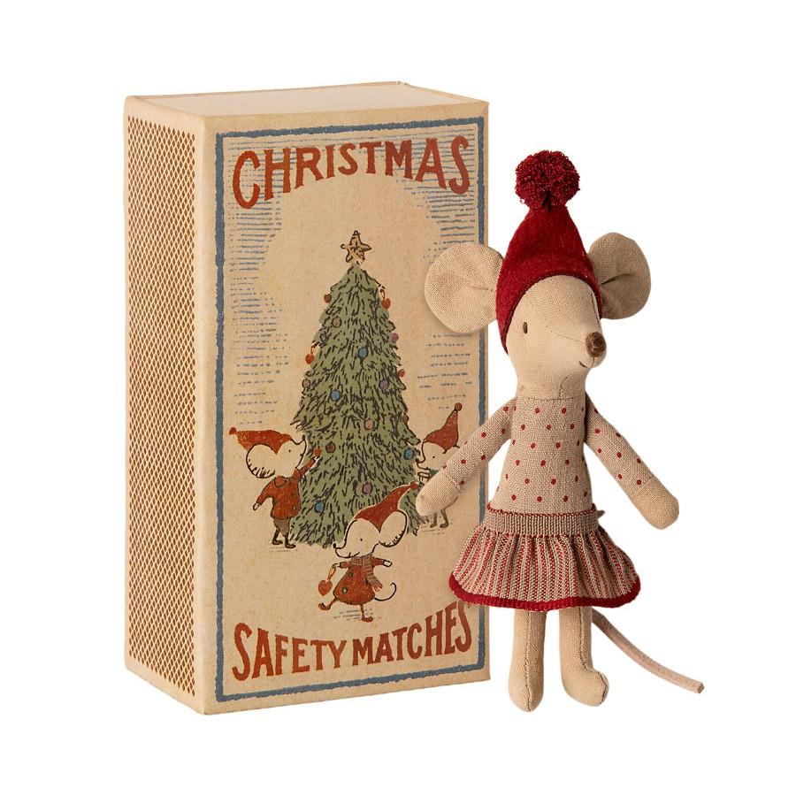 Myszka świąteczna Maileg girl