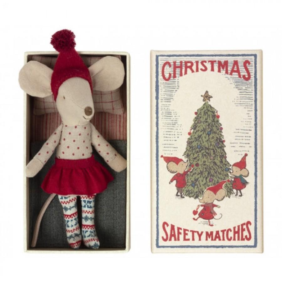 Myszka Christmas w pudełku Maileg