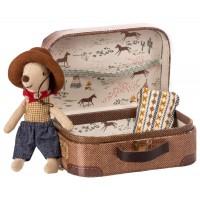 Myszka Cowboy z walizką