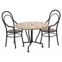 Stoliczek z krzesełkami Maileg
