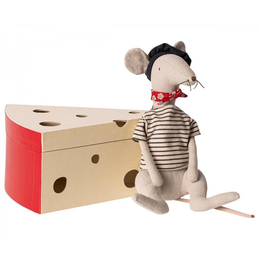 Szczurek jasny szary