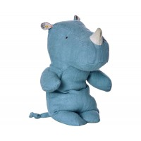 Safari Friend Nosorożec Maileg small niebieski