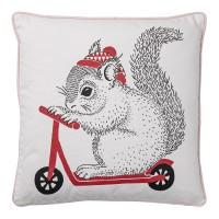 Poduszka z wiewiórką