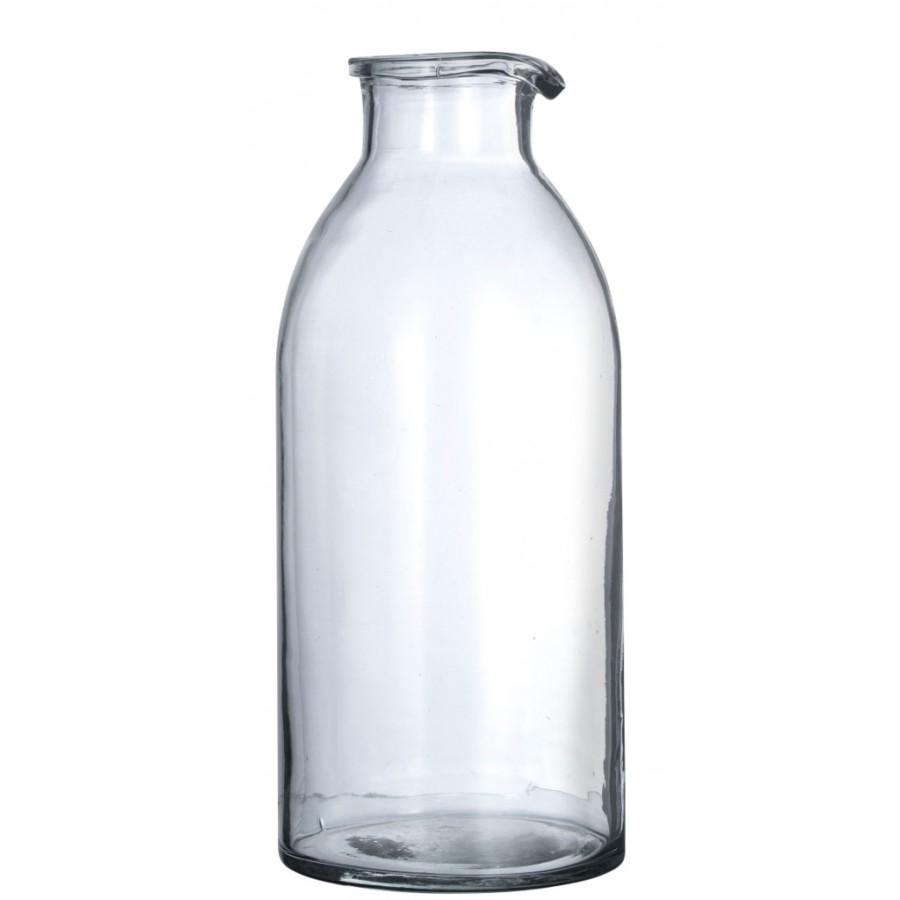 Butelka-dzbanek szklany