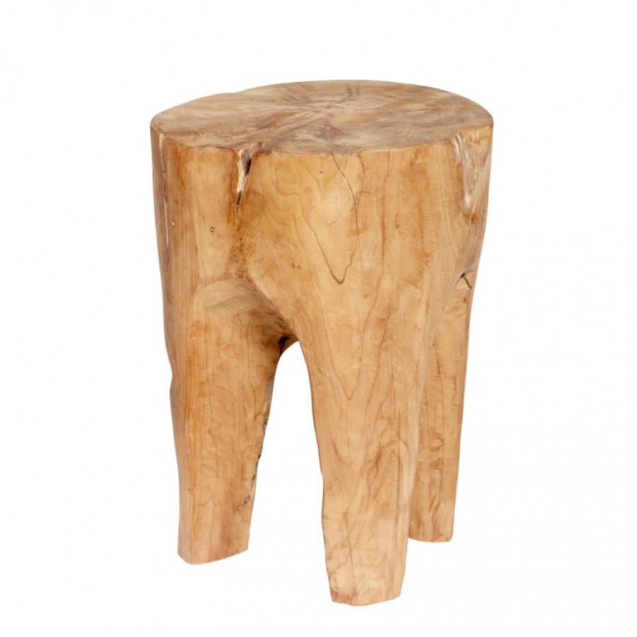 Stołek drewno