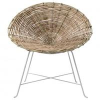 Krzesło z rattanu