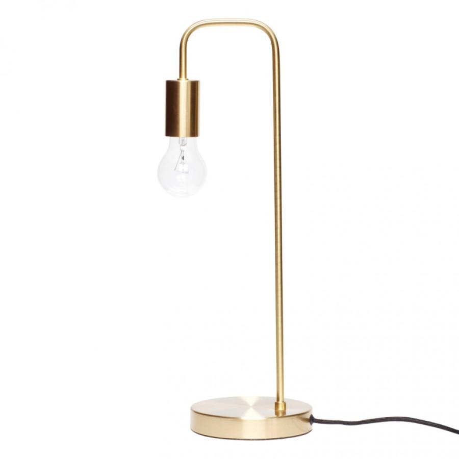 Lampa stołowa z mosiądzu
