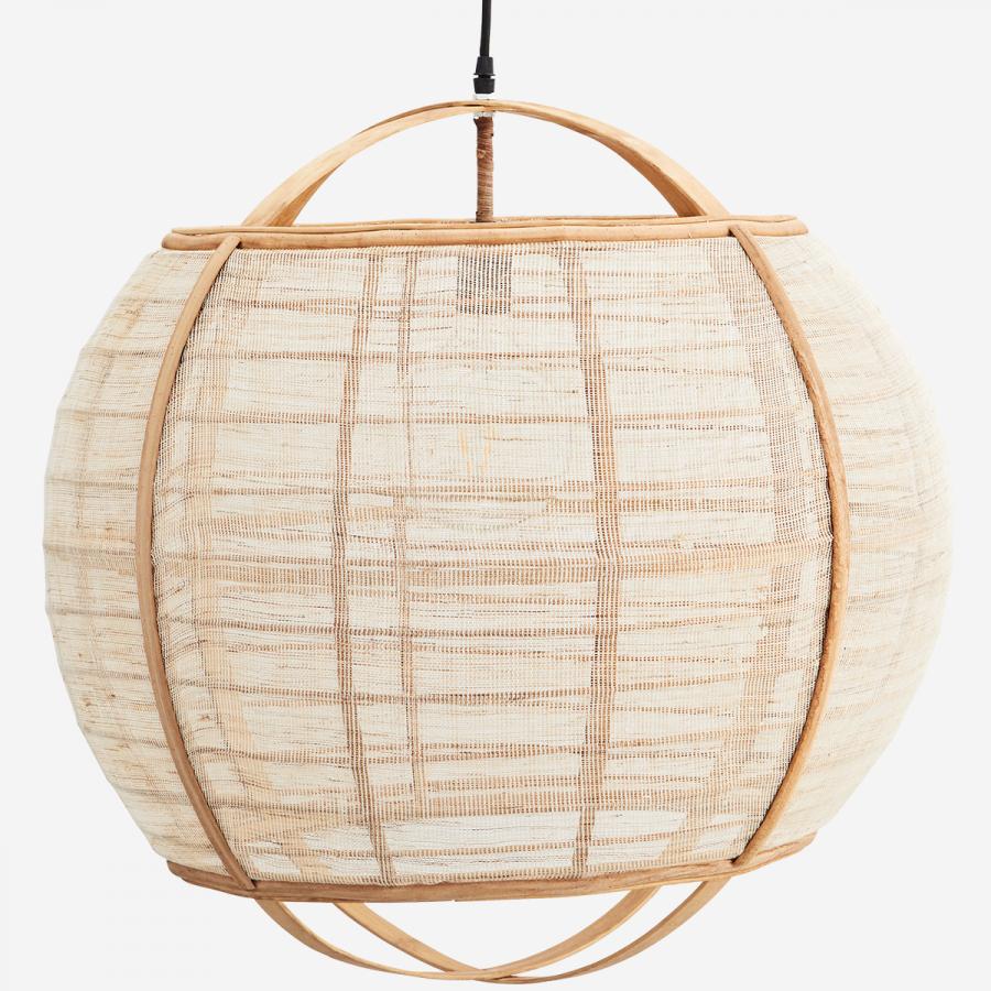 Lampa bambus-len Madam Stoltz 2