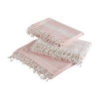 Ręcznik hammam różowy