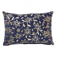 Poduszka granatowo-złota