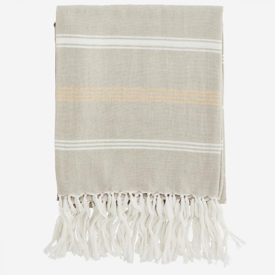 Ręcznik beżowy Madam Stoltz
